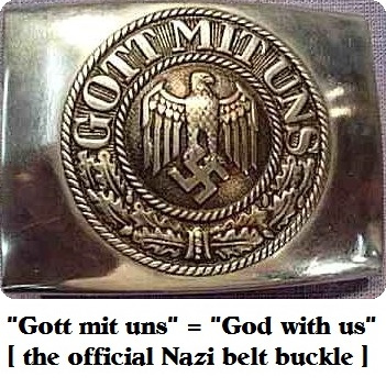 God with Us Belt buckle