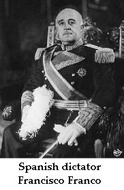 Spanish Dictator Franco